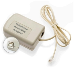 Trillium Direct Line Phone Recording Adapter - USB