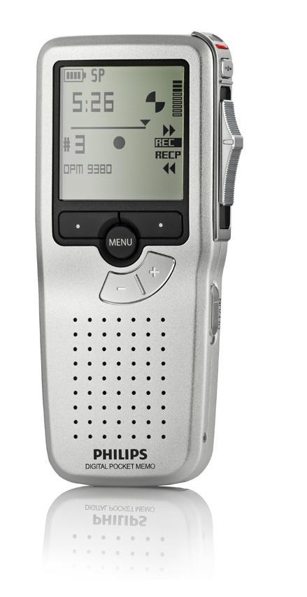 Philips Digital Pocket Memo LFH9380