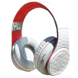 Fanny Wang DJ 2001 Headphones White / Red