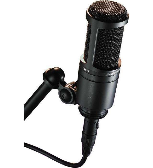 at2020 condenser microphone. Black Bedroom Furniture Sets. Home Design Ideas