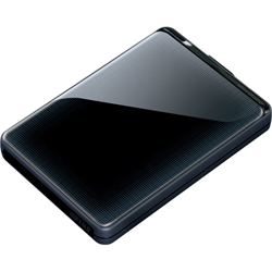 Buffalo MiniStation Plus HD-PNTU3 500 GB External Hard Drive - Black