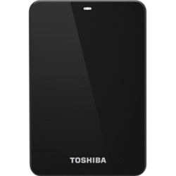 Toshiba Canvio 1 TB USB 3.0 External Hard Drive - Black