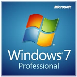 Microsoft Windows 7 Professional With Service Pack 1 64-bit - License & Media - 1 PC