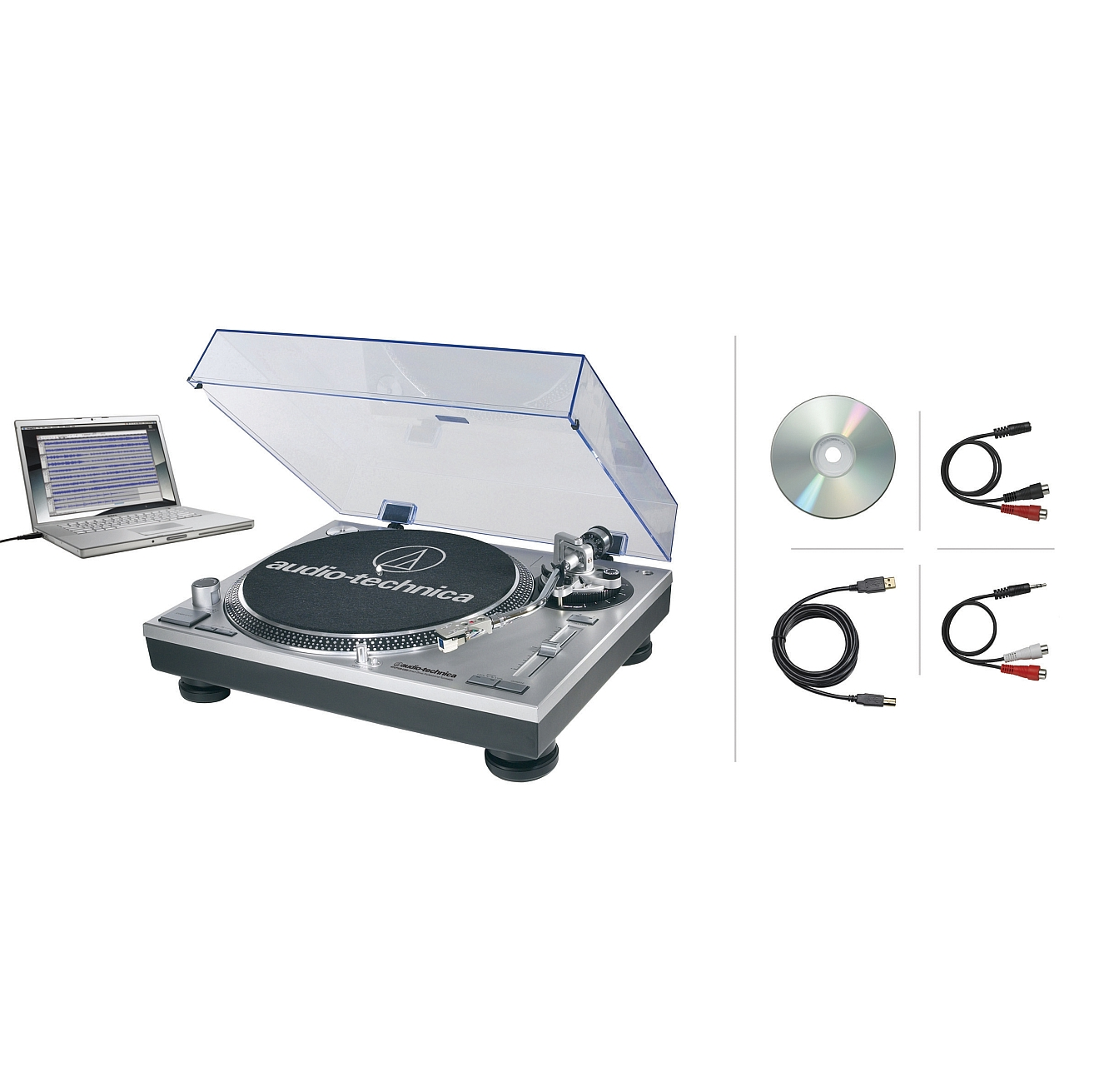 Audio Technica At Lp120 Usb Record Turntable