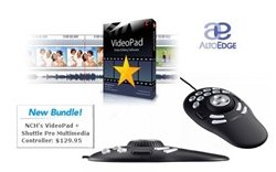 Contour ShuttlePRO v2 Multimedia Controller + VideoPad by NCH Software