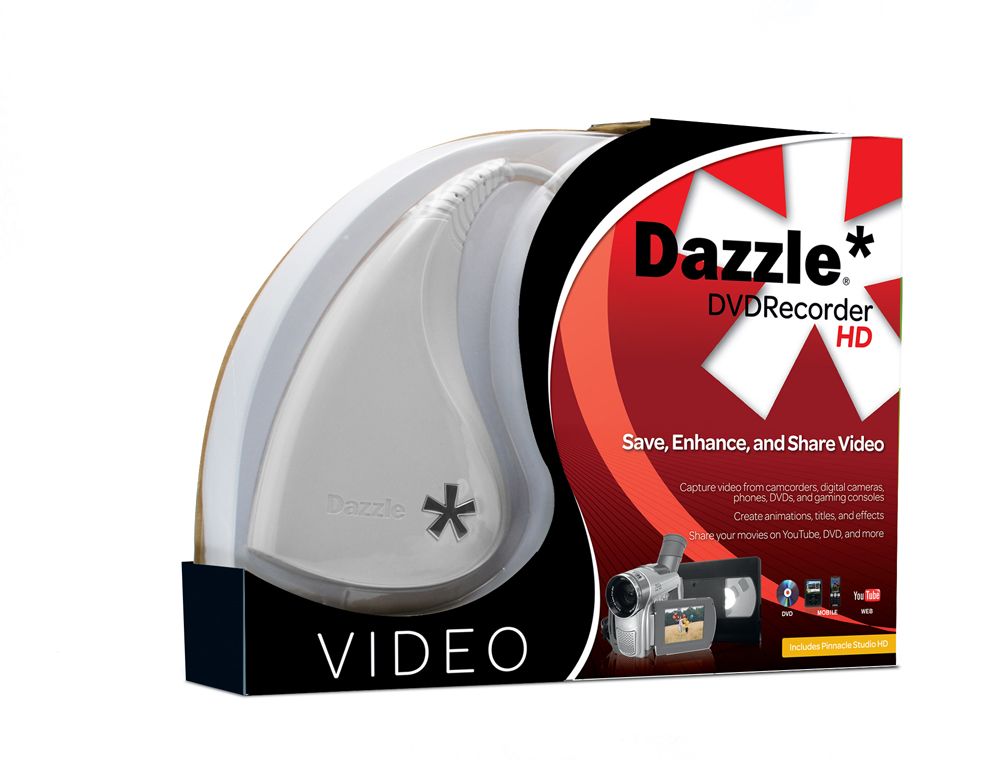 dazzle dvd recorder hd. Black Bedroom Furniture Sets. Home Design Ideas