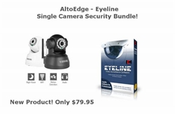Eyeline Security Bundle w/ 1 x Wanscam Wireless IP Camera